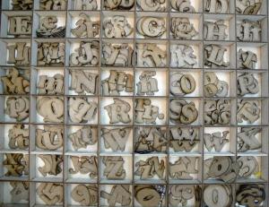 Plantillas Manualides Alfabeto Letras Y Numeros De Madera Para La
